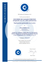 Certificado Calitax